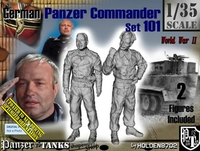 1/35 German Tanker Karl-Otto Set101 in Smooth Fine Detail Plastic