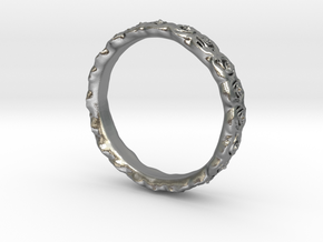 rose ring  in Natural Silver: 4.5 / 47.75