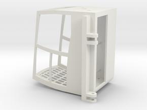 Mdt178 Ultraview Cab in White Natural Versatile Plastic