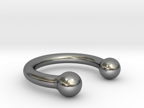 Balance Ring in Polished Silver: 7.5 / 55.5