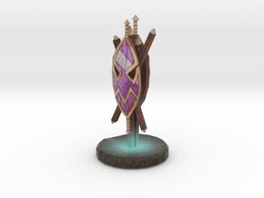 Troll Water Totem in Full Color Sandstone