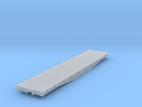 D&RGW 6500 Flat HOn3 in Smooth Fine Detail Plastic