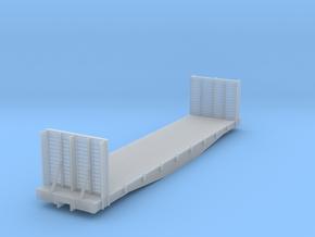 DRGW 6500 Bulkhead Flat HOn3 in Smooth Fine Detail Plastic