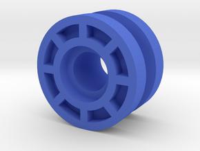 Microman Machine Z blue wheels.  in Blue Strong & Flexible Polished