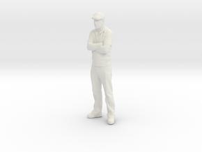 G Scale dapper dan in White Natural Versatile Plastic
