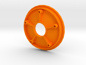 losi jrxt inside wheel half in Orange Processed Versatile Plastic