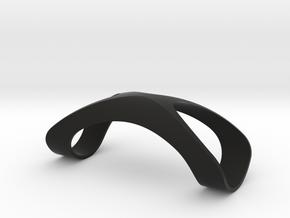 Finger Splint Ring Closed Top in Black Premium Versatile Plastic