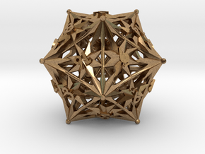 D20 Balanced - Radiant in Natural Brass
