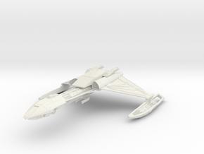 "Klingon D5  5.41""  in White Natural Versatile Plastic"