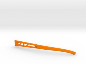 Vanderpool VisionSPEC2,3,4 Left Temple VER717 REV2 in Orange Processed Versatile Plastic