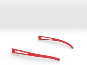 Vanderpool VisionSPEC2,3,4 Temples VER0 in Red Processed Versatile Plastic