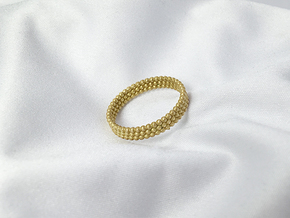 pearl ring in Natural Brass: 6.5 / 52.75