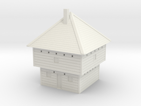 Frontier Blockhouse 6mm in White Natural Versatile Plastic