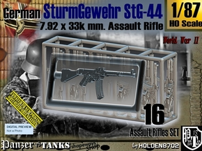 1/87 SturmGewehr StG 44 Set001 in Smoothest Fine Detail Plastic