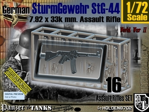 1/72 SturmGewehr StG 44 Set001 in Smoothest Fine Detail Plastic