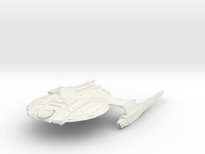 Alt Federation Hawk Class Destroyer in White Natural Versatile Plastic