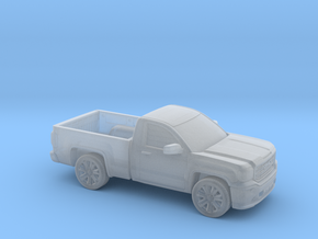 1/160 2013-17 GMC Sierra Reg Cab Reg Bed in Smooth Fine Detail Plastic