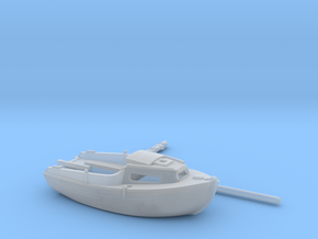 Nbat02 - Small boat in Smoothest Fine Detail Plastic