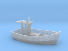 Nbat10 - Small fishing boat in Smoothest Fine Detail Plastic
