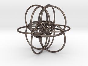 Elliptic Reye Configuration in Polished Bronzed Silver Steel