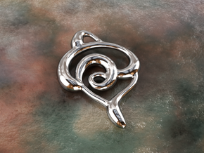 Snakes in Polished Silver