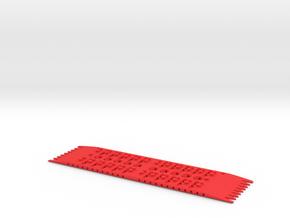 The Gripper SandLadder in Red Processed Versatile Plastic