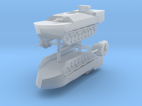 1/285 (6mm) Type 5 To-Ku amphibious tank in Smooth Fine Detail Plastic