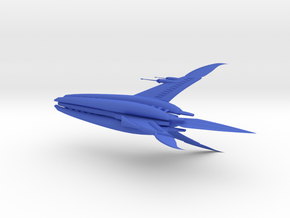 Minbari - Tinashi Carrier (w/o base) in Blue Processed Versatile Plastic