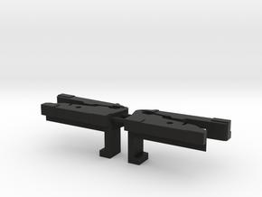 Lancia Delta sun roof schiebedach KW2030-431&2 L-R in Black Natural Versatile Plastic