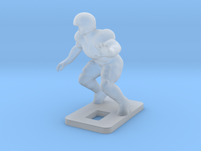 Right Offensive Tackle (2.2g) in Smooth Fine Detail Plastic