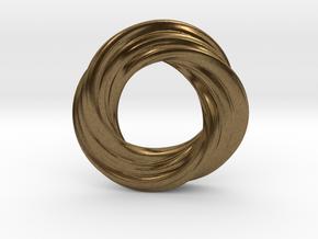 Mobius XI in Natural Bronze