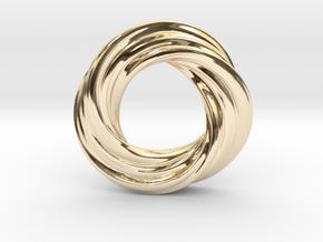 Mobius XI in 14K Yellow Gold