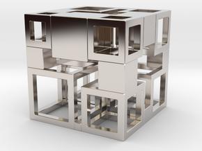 Perfect Cubed Cube Frame 41-20-2 in Platinum