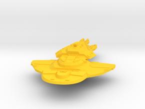 Cardassian Union Keldon-Class 1:7000 in Yellow Processed Versatile Plastic