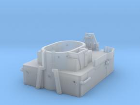 1/144 Bismarck Upper Mast Deck in Smooth Fine Detail Plastic