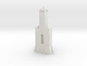 85 Sky Tower (1:2000) in White Natural Versatile Plastic