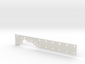 FORMER_FULL CENTER (2 mm with holes)(matched) in White Natural Versatile Plastic