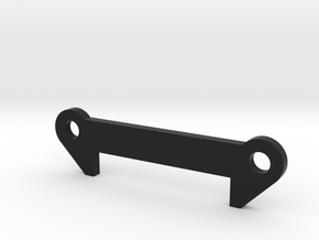 TLR 22 Front Arm Shim (1.0-4.0) in Black Natural Versatile Plastic