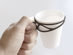 Cup Converter - size S in Black Natural Versatile Plastic