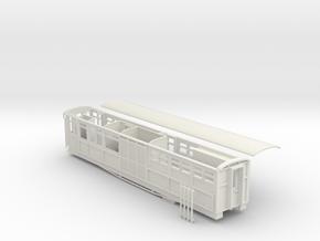 Ffestiniog Rly Superbarn service coach NO.125 in White Strong & Flexible