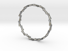 Thorn Ring in Natural Silver