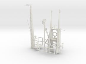 1/16 US Gato Fairwater Detail KIT in White Natural Versatile Plastic