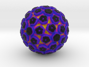 JC Polyomavirus in Full Color Sandstone