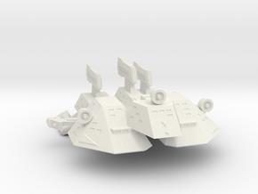 3788 Scale Kzinti Tri-Maran SRZ in White Strong & Flexible