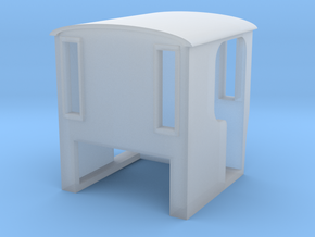 009 'Tiny Trains' Rectangular windowed cab in Smooth Fine Detail Plastic