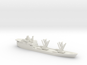 1/1250 RMS St Helena Falklands in White Natural Versatile Plastic