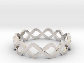 DNA Ring in Platinum: 10.25 / 62.125