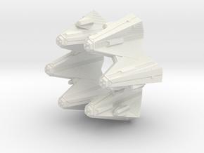 3788 Scale Tholian Crown of Tholia SRZ in White Natural Versatile Plastic