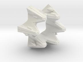 3125 Scale Tholian Crown of Tholia SRZ in White Natural Versatile Plastic