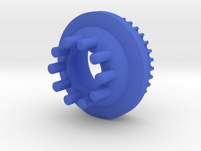 10mm 34T Pulley For Kegals in Blue Processed Versatile Plastic